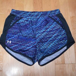 UNDER ARMOUR Women's Sz S  ATHLETIC Running SHORTS